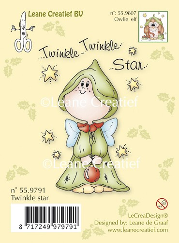 Clear stamp Twinkle star