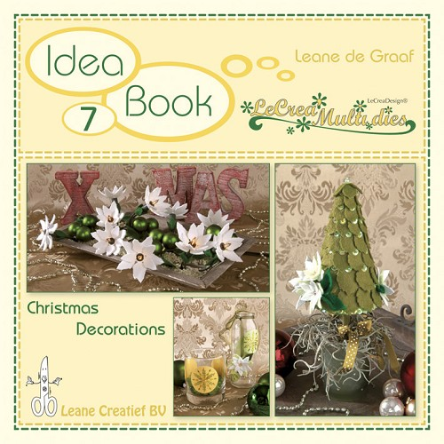 Idea book 7. Christmas Decorations with LeCrea Multi dies