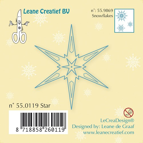 Clear stamp Star