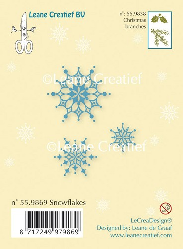 Clear stamp Snow flakes