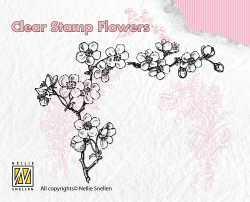 Clear Stamp Flowers - Blossom