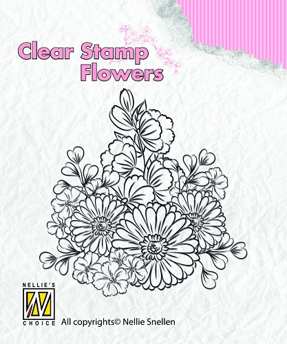 Clear stamps Flowers Gerberas