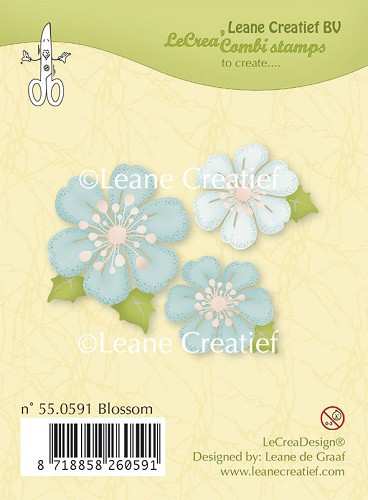 Clear stamp Blossom