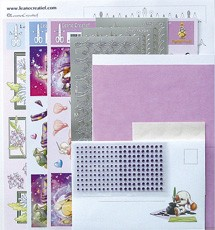 LeCreaDesign® Sticker-L-Stitch® kaarten kits 13