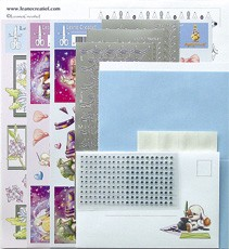 LeCreaDesign® Sticker-L-Stitch® kaarten kits 14