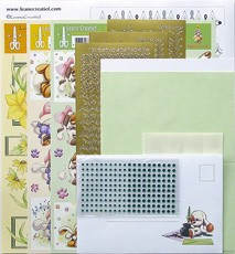 LeCreaDesign® Sticker-L-Stitch® kaarten kits 15