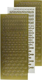 61.4048  L- Stitch  stickers goud