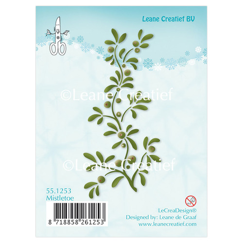 Clear stamp Mistletoe
