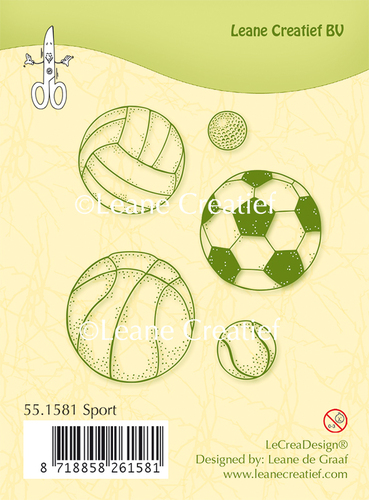 Clear stamp Sport