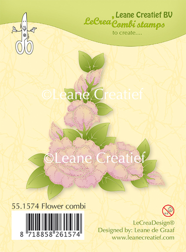 Clear stamp Flower combi