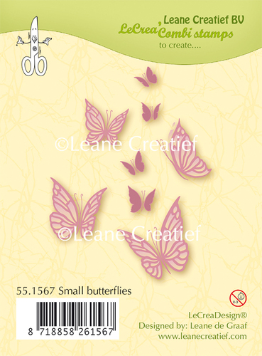 Clear stamp small Butterflies