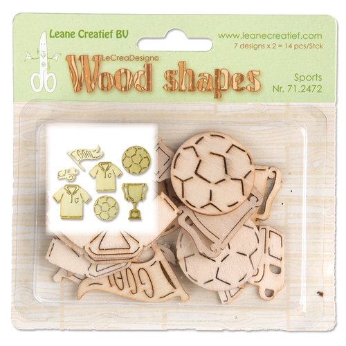 Wood shapes Sports