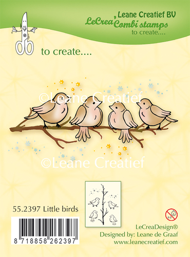 Clear stamp Little Birds