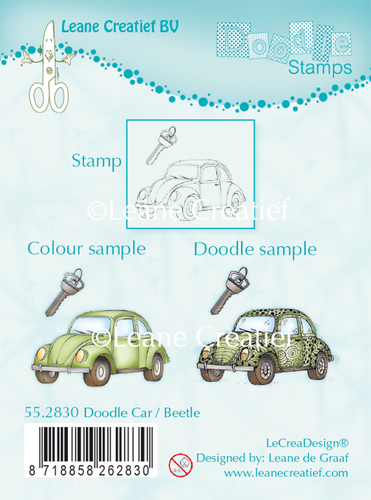 Doodle clear stamp Car / Beetle