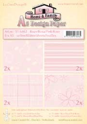 51.6462 LeCreaDesign® papier assortiment roze