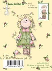 Clearstamp Bambinie´s B006 Christmas girl